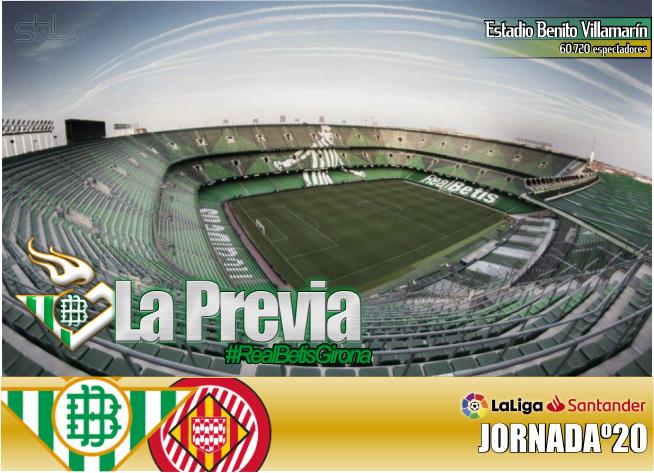 Previa | Real Betis Balompié – Girona FC; Ganar, ganar y ganar