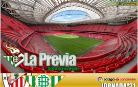 Previa | Athletic Club de Bilbao-Real Betis Betis Balompie; Ganar en el nuevo San Mames