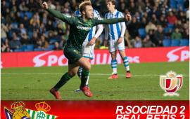 Crónica | Real Sociedad 2 – Real Betis Balompié 2: Con sufrimiento a los cuartos de Copa