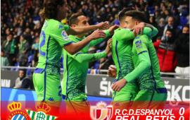 Crónica | RCD Espanyol 1-Real Betis Balompié 1: El Betis toma ventaja para la vuelta gracias a Sanabria