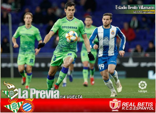 Previa Copa | Real Betis Balompié- RCD Espanyol; Por lo civil o lo criminal