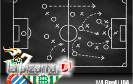 La pizarra | RCD Espanyol vs Real Betis. 1/4 Copa del Rey.