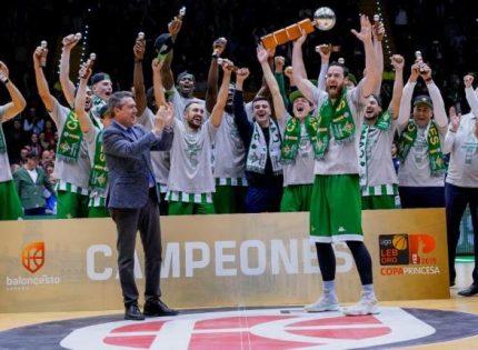 Baloncesto   El Real Betis Energía Plus gana la Copa Princesa de Asturias 2019