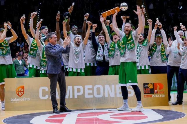 Baloncesto | El Real Betis Energía Plus gana la Copa Princesa de Asturias 2019