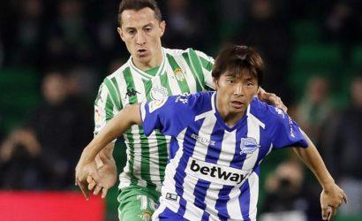 Crónica   Real Betis Balompié 1-CD Alavés 1: Esfuerzo sin premio