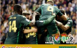 Crónica   Real Valladolid CF 0-Real Betis Balompié 2: Triunfo balsámico