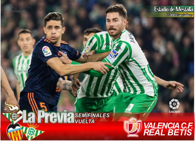 Previa | Valencia FC-Real Betis Balompié: Soñemos con otra gesta