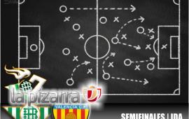 La pizarra | Real Betis vs Valencia CF. Copa del Rey. 1/2 IDA.