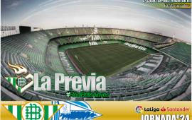 Previa | Real Betis Balompié-Deportivo Alaves; Que vuelva el buen Betis a la liga
