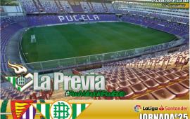Previa | Real Valladolid-Real Betis Balompié: Sentir, sufrir, luchar y ganar