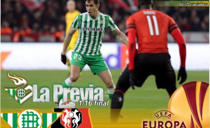 Previa   UEL. Real Betis Balompié-Stade Rennes; Vivan los jueves