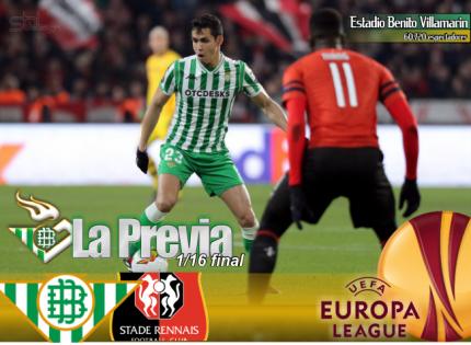 Previa | UEL. Real Betis Balompié-Stade Rennes; Vivan los jueves