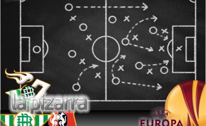 La pizarra | Real Betis vs Stade Rennais. UEL. 1/16. Vuelta.
