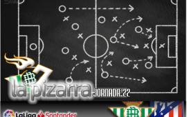 La pizarra | Real Betis vs Atlético de Madrid. J22. LaLiga