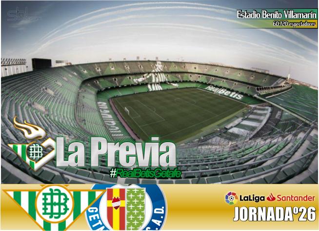 Previa | Real Betis Balompié-Getafe CF: La Liga como bálsamo