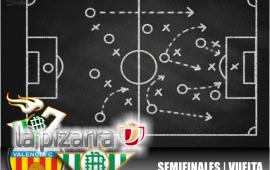 La pizarra | Valencia vs Real Betis. Copa del Rey. 1/2