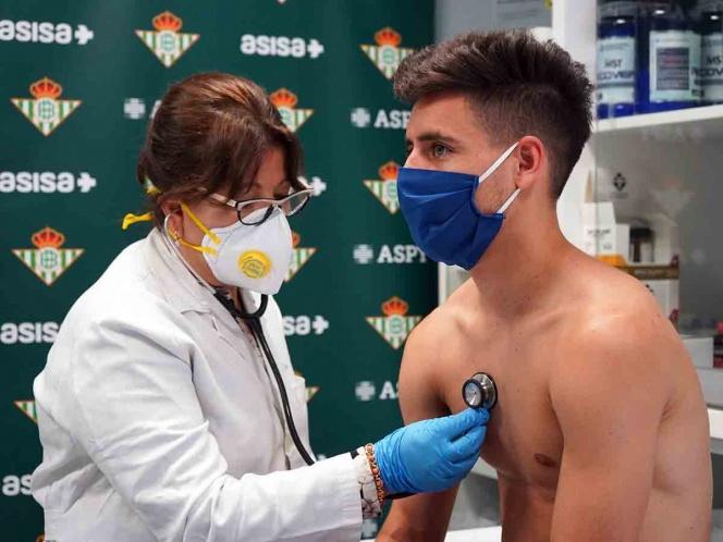 Ampliación   En el Betis no constan los positivos en coronavirus