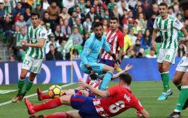 Esta jornada visita el Villamarín el Atlético de Madrid