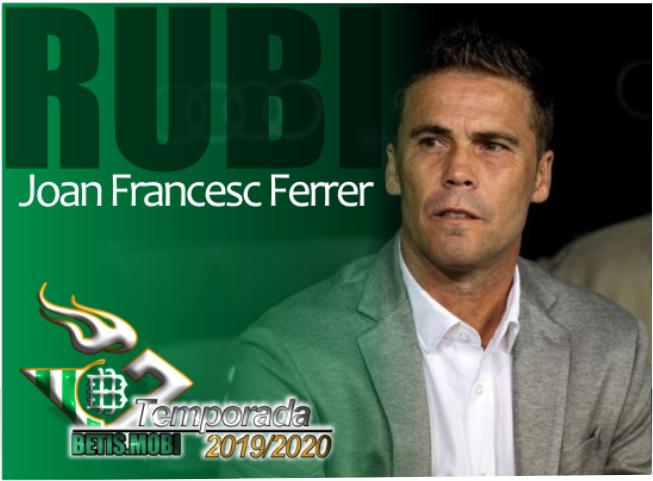Presentación del nuevo entrenador, Rubi.
