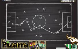 La pizarra | J2. FC Barcelona vs Real Betis. LaLiga.