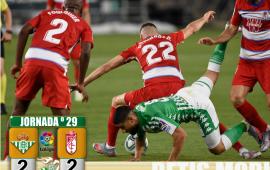 Crónica | Real Betis Balompié 2-2 Granada CF;  Salvando la realidad