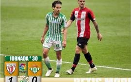 Crónica | Athletic Club de Bilbao 1-Real Betis Balompié 0: Volver es perder