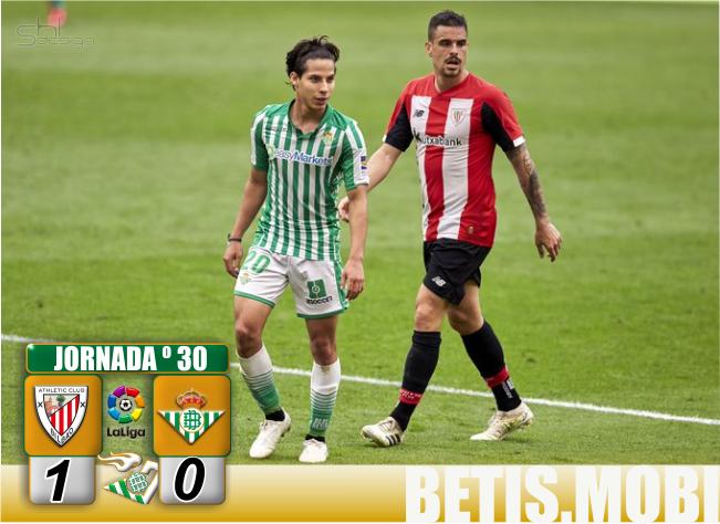 Crónica   Athletic Club de Bilbao 1-Real Betis Balompié 0: Volver es perder