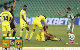 Crónica | Real Betis Balompié 0 – Villarreal 2: Todos son pulgas