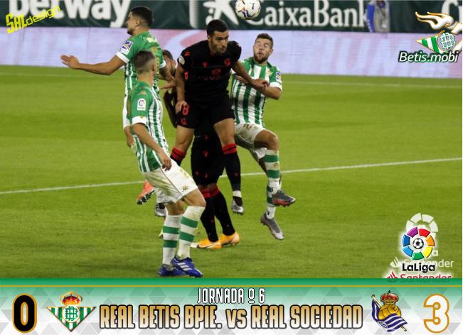 Crónica | Real Betis Balompié 0 – Real Sociedad 3 | Una buena Real y el VAR dejan al Betis sin liderato