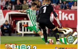 Crónica | Sevilla FC 3-Real Betis Balompié: 2; Errores en ataque y en defensa condenan al Betis en el derbi