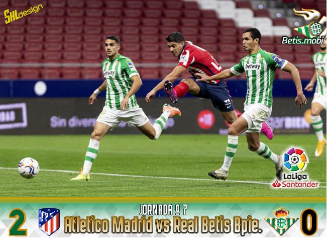 Crónica   Atlético de Madrid 2 – Real Betis Balompié 0: Como perder un partido en 20 segundos