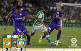 Crónica | Real Betis Balompié 2 – C.D Leganés 1: Reacción para sellar la primera victoria