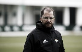 Oficial | José Juan Romero deja de ser entrenador del Betis Deportivo
