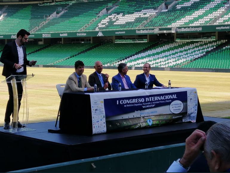 El Estadio Benito Villamarín acoge  I Congreso Internacional de Medicina Deportiva, Fisioterapia y Actividad Física y Deporte