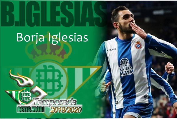 Borja Iglesias, el 9 del Real Betis Balompié