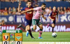 Crónica   CA Osasuna 0-Real Betis Balompié 0: Joel salva a un Betis que no carbura