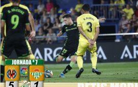 Crónica | Villarreal CF 5-Real Betis Balompié 1: Demasiado castigo