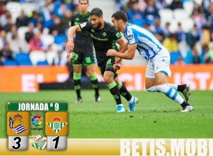 Crónica | Real Sociedad 3-Real Betis Balompié 1: Debacle que acaba en descenso