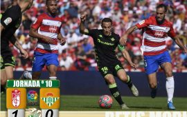 Crónica | Granada CF- Real Betis Balompié; Este barco se hunde