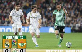Crónica | Real Madrid 0-Real Betis Balompié 0: Un empate que sabe a oro