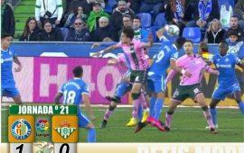 Crónica | Getafe 1-Real Betis Balompié 0: Cruel desenlace en Madrid