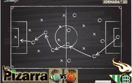 La pizarra | Real Betis vs Mallorca. J25, LaLiga.