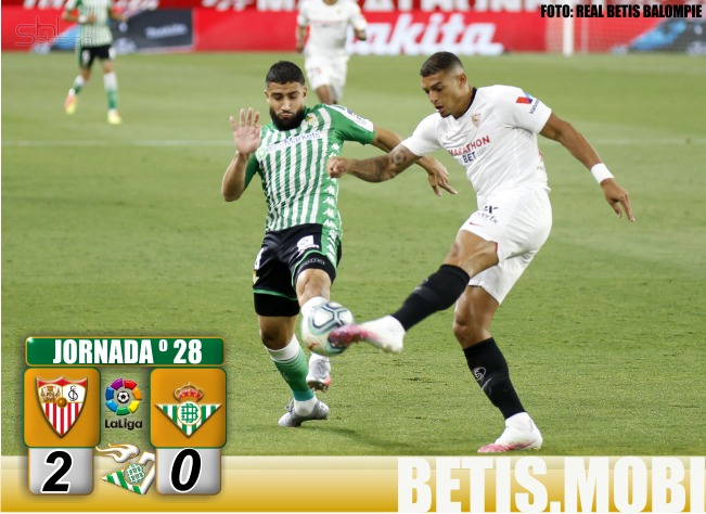Crónica | Sevilla FC 2 – Real Betis Balompié 0: Esta no es forma de volver