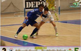 Futsal | Remontada para conseguir la tercera de la temporada