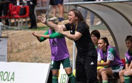 Féminas | María Pry deja de ser entrenadora del Real Betis Féminas