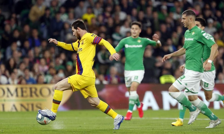 Crónica | Real Betis Balompié 2-FC Barcelona 3: Esfuerzo sin recompensa