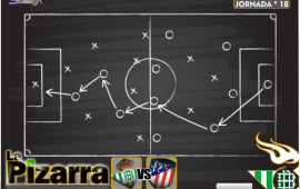 La pizarra | Real Betis vs Atlético de Madrid. J18 LaLiga.