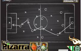 La pizarra | Mallorca vs Real Betis. J15. La Liga