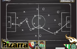 La pizarra | Osasuna vs Real Betis. J 5. LaLiga.