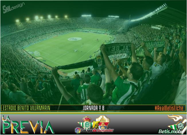 Previa | Real Betis Balompié-Elche CF: Truco o trato